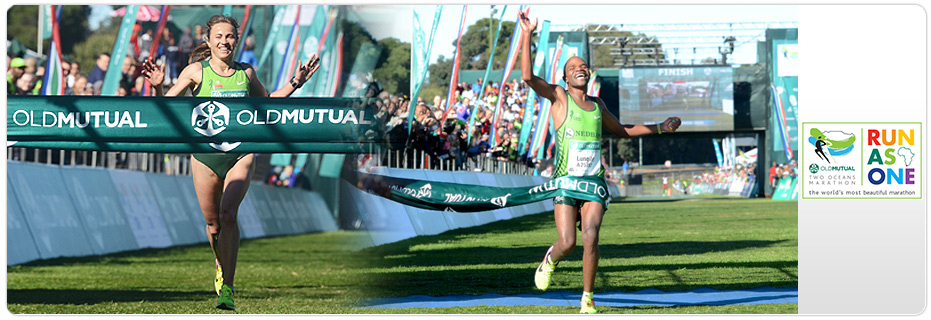 Old Mutual Two Oceans Ultra Marathon & Half Marathon 2017 banner