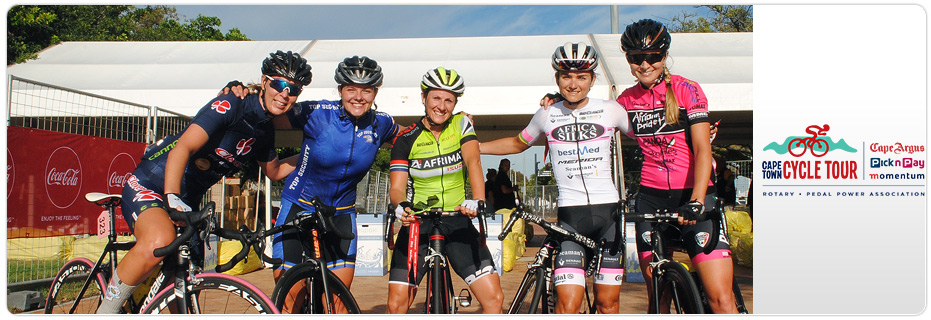Cape Town Cycle Tour 2018 banner